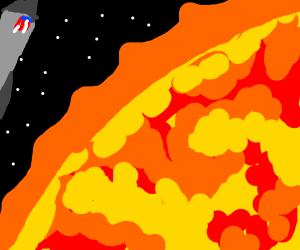space exploration on the sun