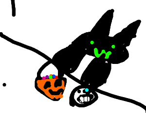 Bongo Cat on Halloween