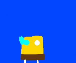 sans spongebob squarepants and kawaii patrick
