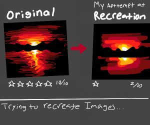And trying to recreate images