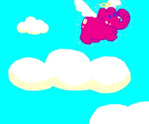 elephant angel