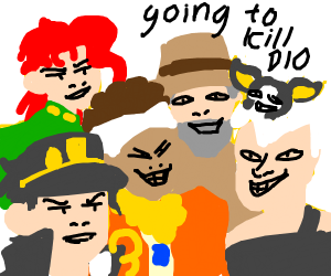 Me and the Boys Going to Egypt to Fight DIO