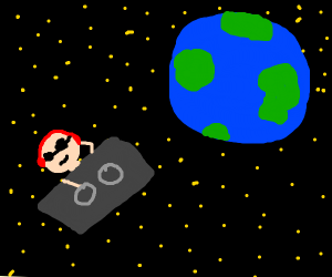 DJ in space