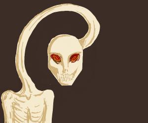 Demon with a noodle-neck