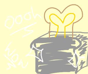 Ultra shiny mega toaster