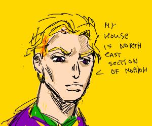 My name is Yoshikage Kira. I am 33 years old.