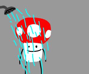 Showering Mooshroom