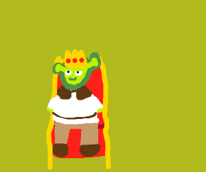 The shrek King