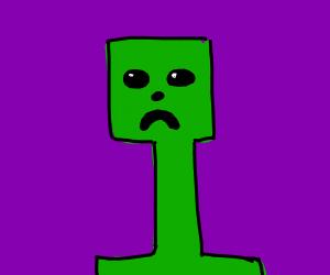 cartoon creeper
