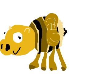 Buzzin bee pig