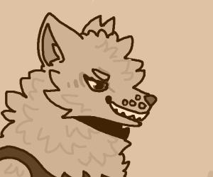 Fox anthro gal