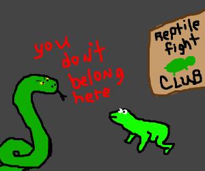 reptile fighting club