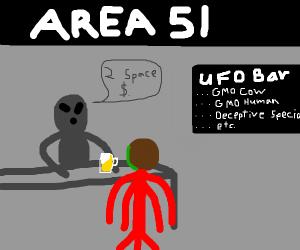 Area 51 bartender (alien)