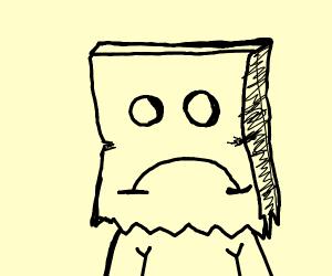 sad drawception default profile pic