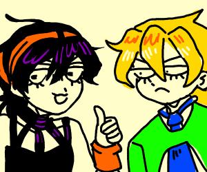 Narancia and Fugo