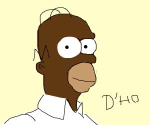 Black Homer Simpson (?)