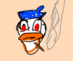 Donald Duck high on ingredients