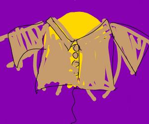 Balloon wearing a Coat