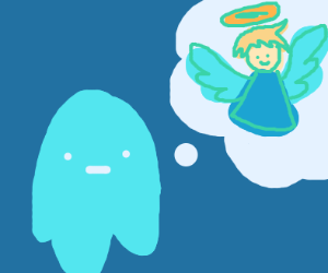 ghost thinks of an angel