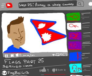Step 24: Make Flag-based youtube channel.