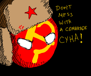Don't mess with Communist Red Circle boy