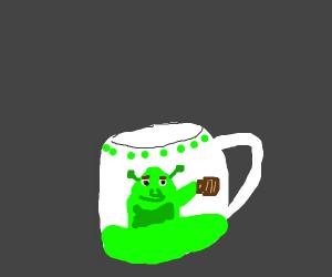 My new Shrek mug