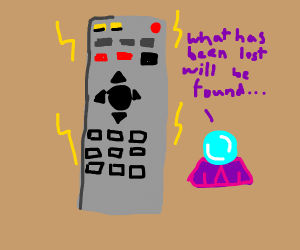 remote i lost for the tv