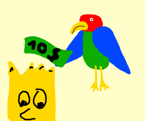 Parrot hiring Bart