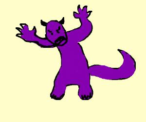 Purple mosnter