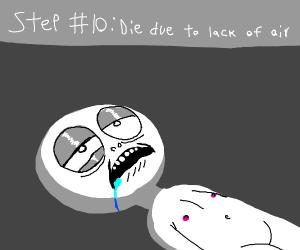 step 9: choke
