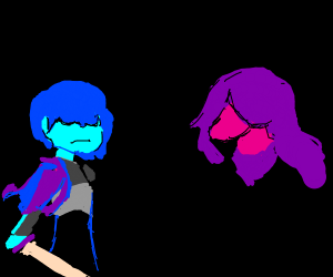 Kris, Susie, and Ralsei