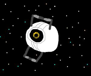 Space Sphere in Space! (Portal 2)