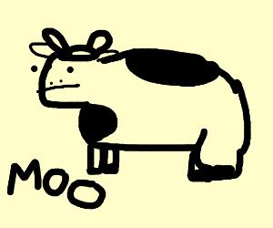 I am cow, hear me moo