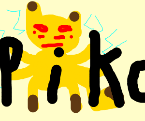 Mutated Pikachu
