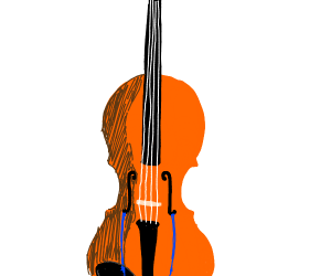 A crying violin