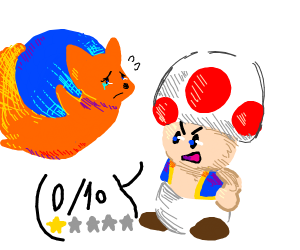 Toad really disapproves of Mozilla Firefox