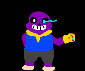 Fusion of Sans & Thanos