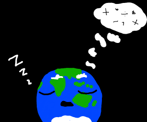 earth sleeping and dreaming easy math