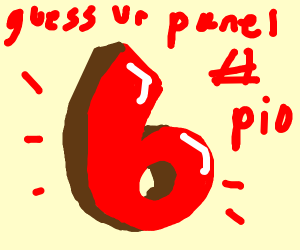 5 Guess Your panel number PIO