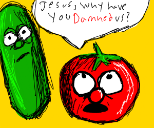 Tomato and Cucumber question jesus