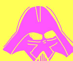 Death Vader but pink