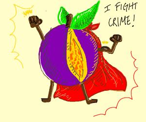 Passion fruit superhero
