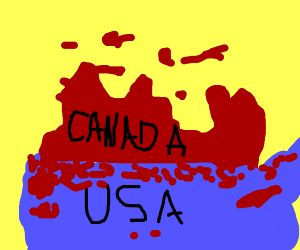 Canada takes over the US