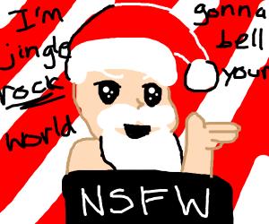 NSFW santa