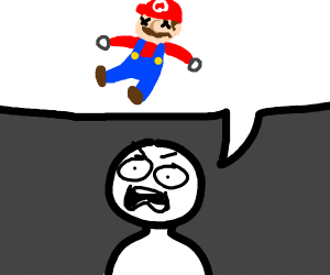 I CANT BELIEVE MARIO IS HECKING DEAD