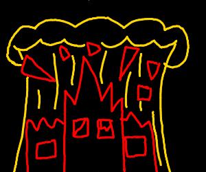City explodes!