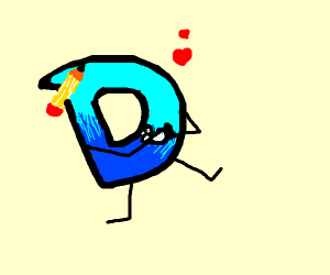 Drawception D loves Duck