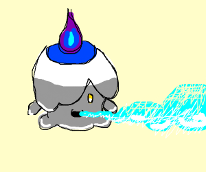 Litwick (Pokémon) eating person's soul