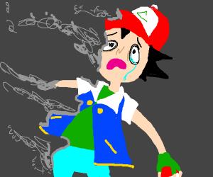 Ash doesn't feel so good