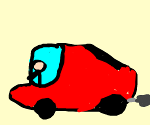 Person trying to drive